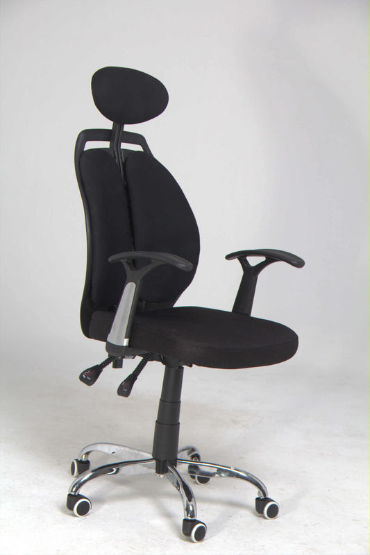 Adjustable Height Home Office Computer Chair With Headrest / Lumbar Support 11KG
